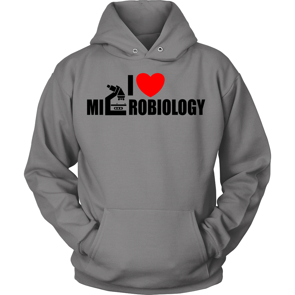 FunkyShirty I Love Microbiology (Women)  Creative Design - FunkyShirty