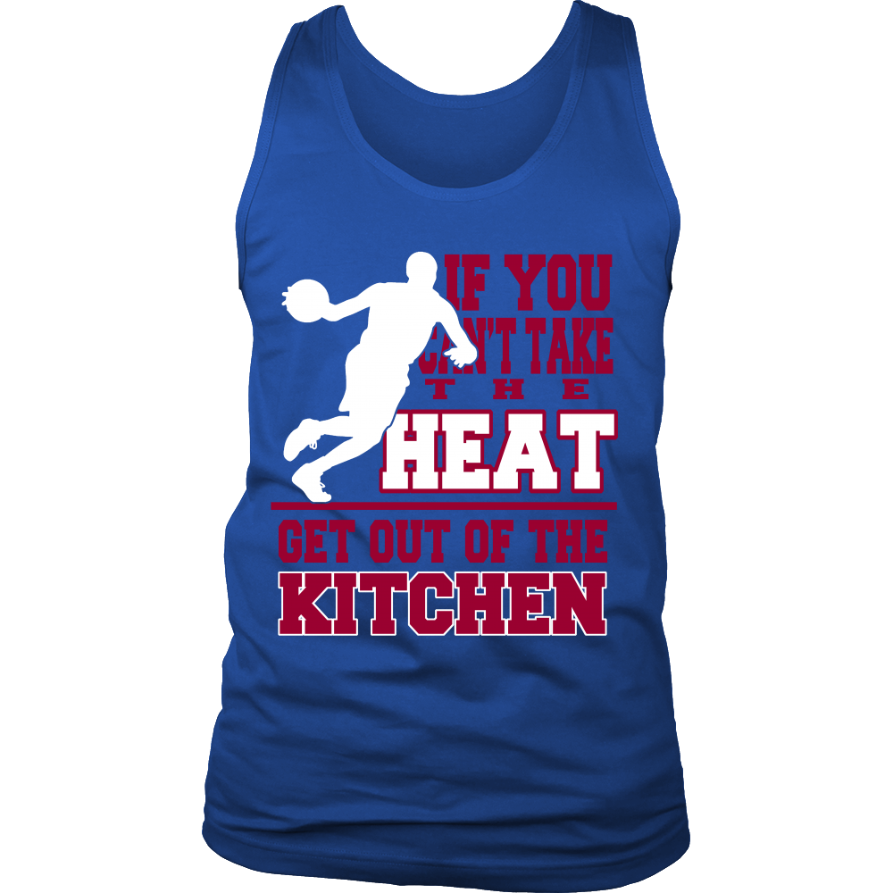 FunkyShirty If You cant take the Heat Get out of the Kitchen (Men)  Creative Design - FunkyShirty