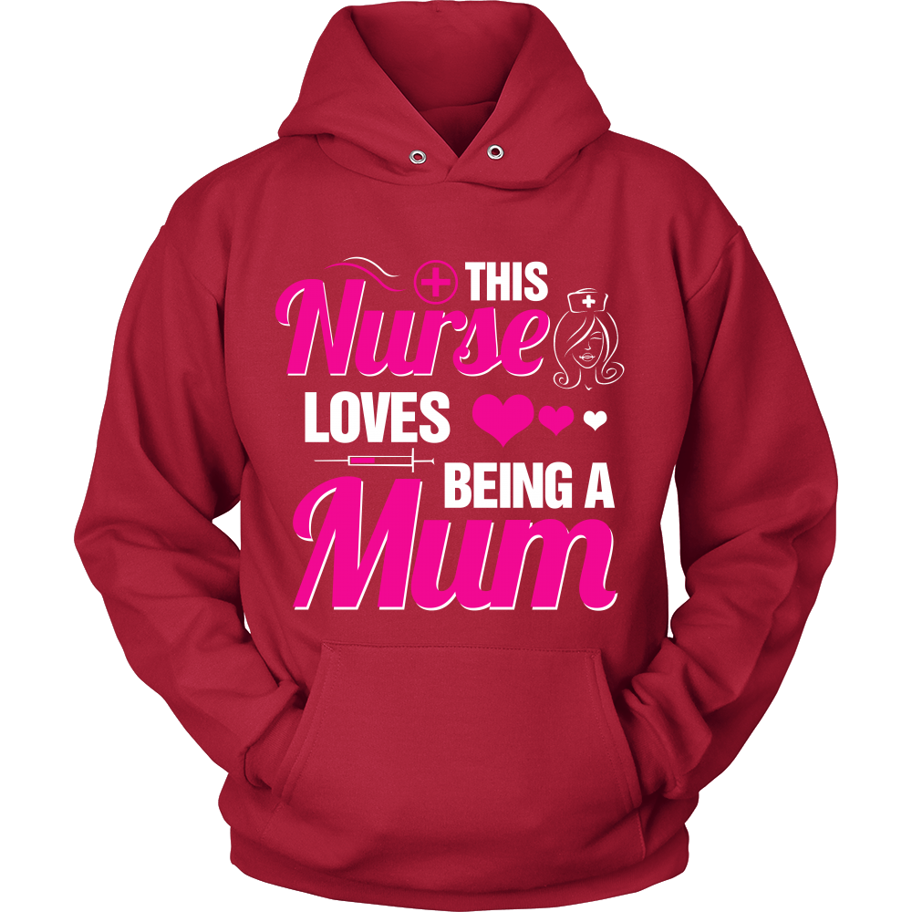 FunkyShirty This Nurse Love's being a Mom  Creative Design - FunkyShirty