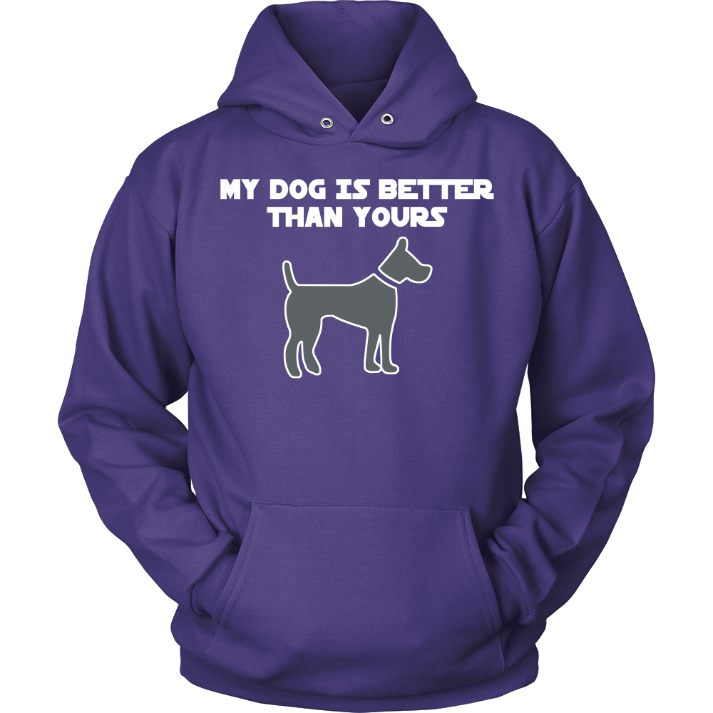 FunkyShirty My Dog is Better than Your's (Women)  Creative Design - FunkyShirty