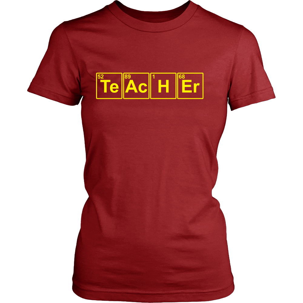 FunkyShirty Teacher (Women)  Creative Design - FunkyShirty