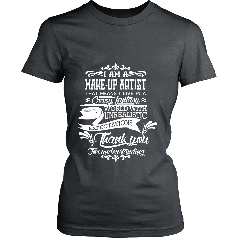 FunkyShirty Make Up Artist (Women)  Creative Design - FunkyShirty