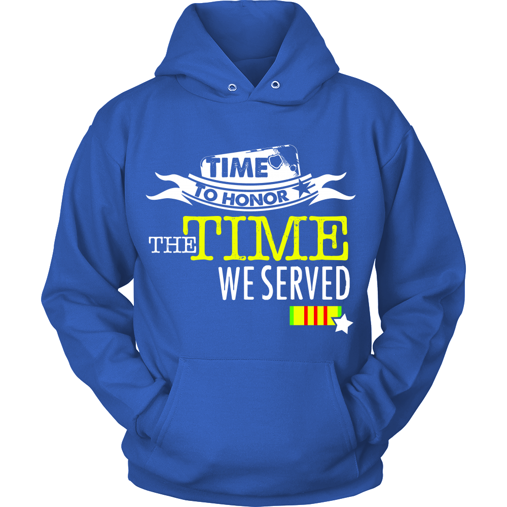 FunkyShirty Time to Honor the Time we Served (Women)  Creative Design - FunkyShirty
