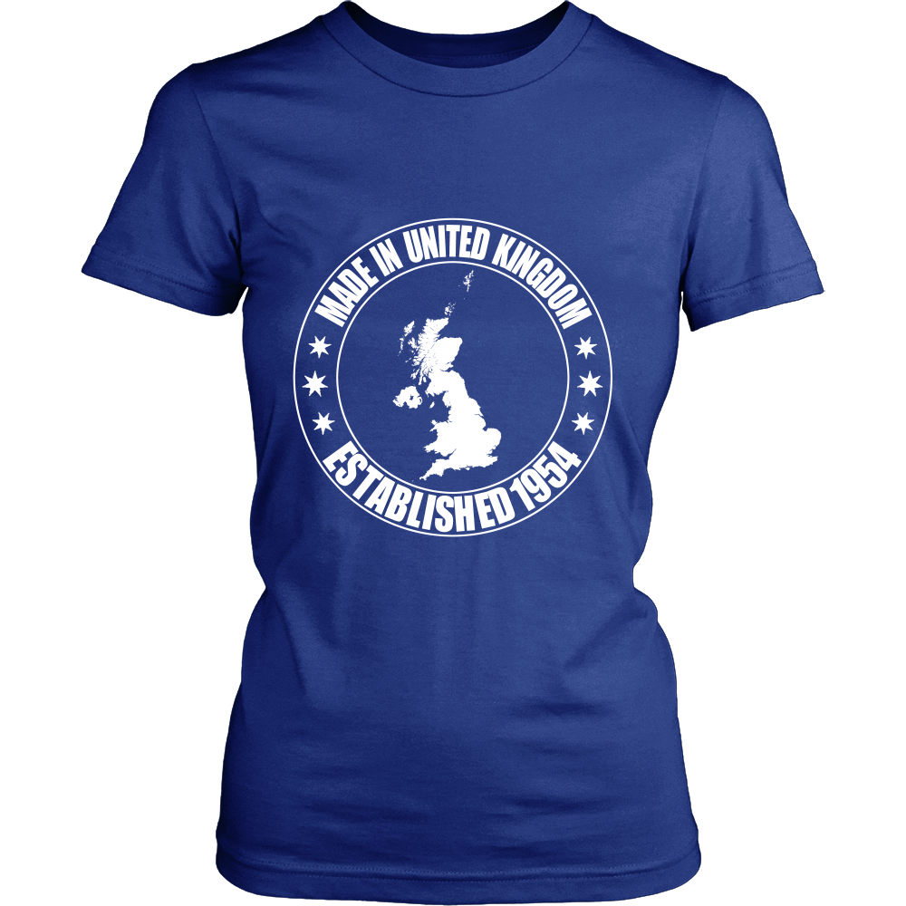 FunkyShirty Made in United Kingdom Established 1954 (Women)  Creative Design - FunkyShirty