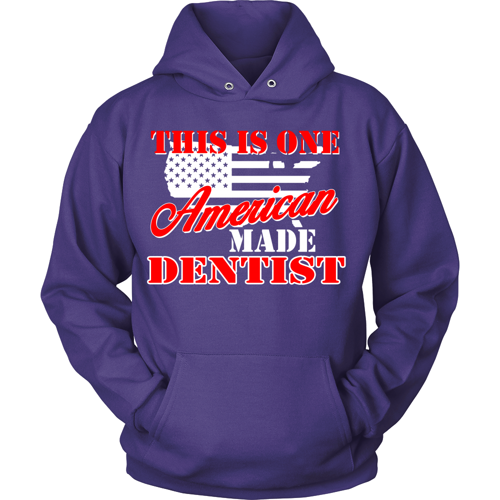 FunkyShirty This is one American made Dentist (Men)  Creative Design - FunkyShirty