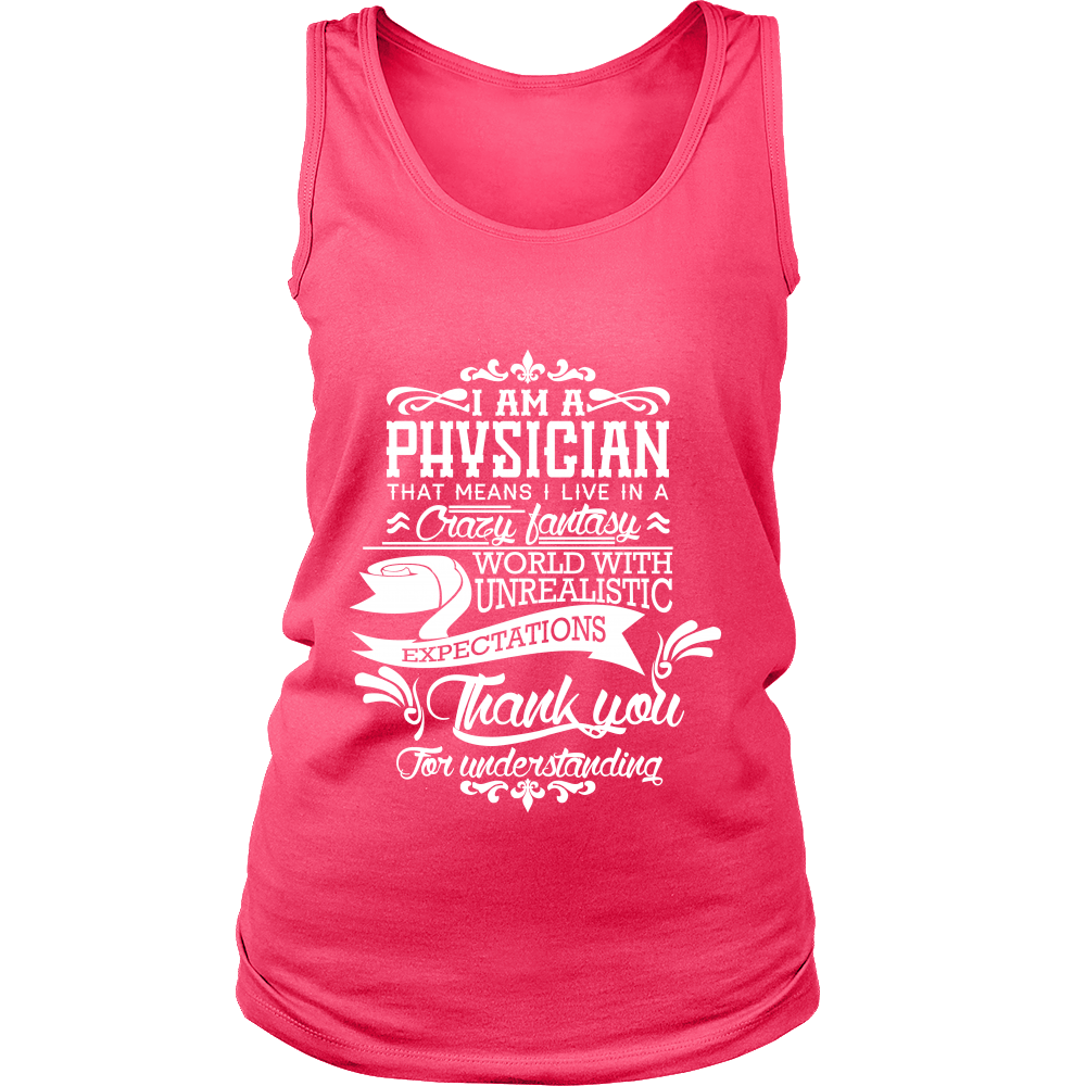 FunkyShirty Physician (Women)  Creative Design - FunkyShirty