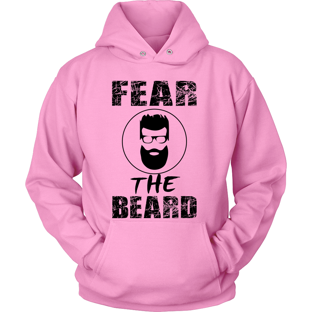 FunkyShirty Fear The Beard  Creative Design - FunkyShirty