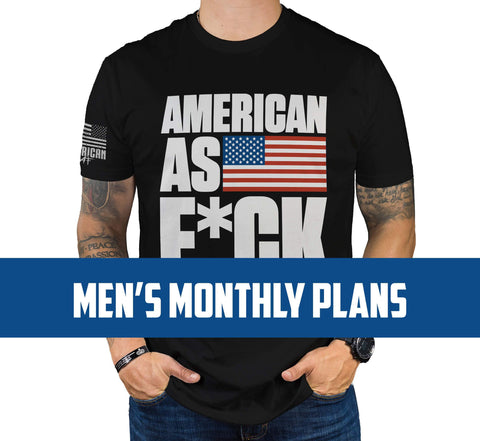 Mens Monthly Plans