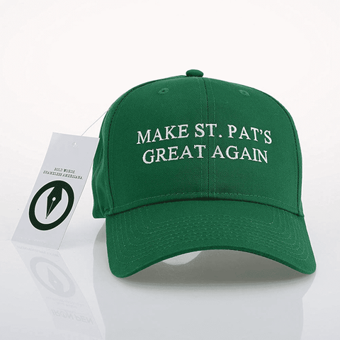 Make St. Pat's Great Again Cap