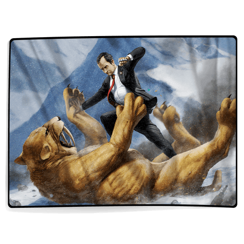 Nixon VS Sabertooth - Blanket
