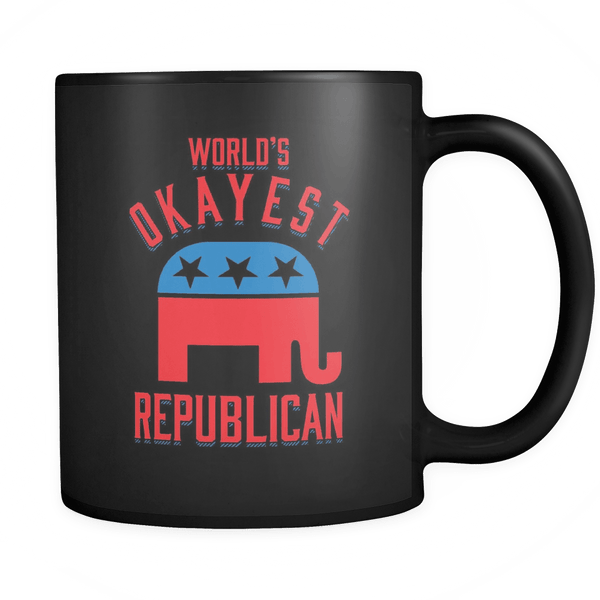 World's Okayest Republican - Coffee Mug