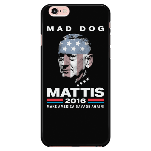 Mad Dog Mattis - Phone Case