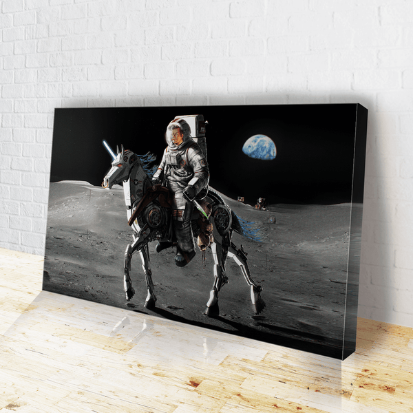 JFK Alien Hunter Canvas