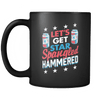 Drinkware Let�s Get Star Spangled Hammered Let's Get Star Spangled Hammered - Coffee Mug
