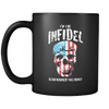 I'm the Infidel Allah warned you about - Coffee Mug