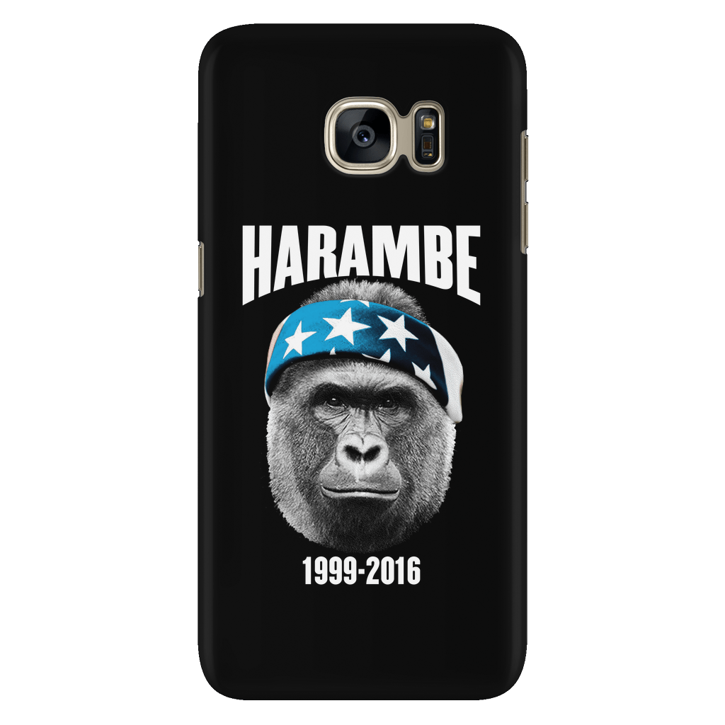 cb96e11f6 Harambe 1999-2016 - Phone Case | American AF - AAF Nation