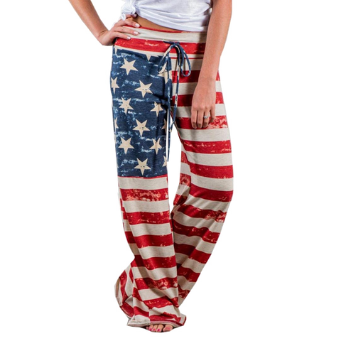 USA Flag Loungewear (Ladies)
