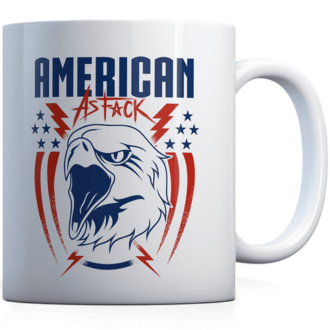 American as F - Eagle - Coffee Mug