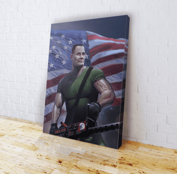 Chesty Puller Frozen Chosin' (Zoom) Canvas