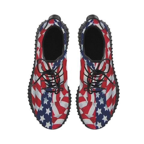 Stars and Stripes Running Shoes