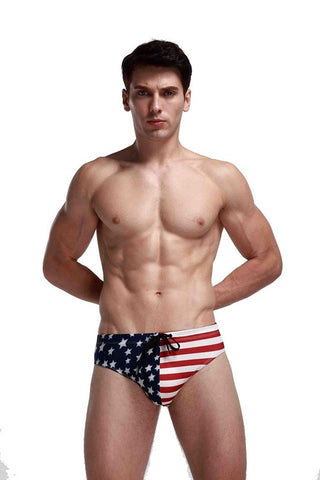 Stars and Stripes Low Rise Bikini Brief