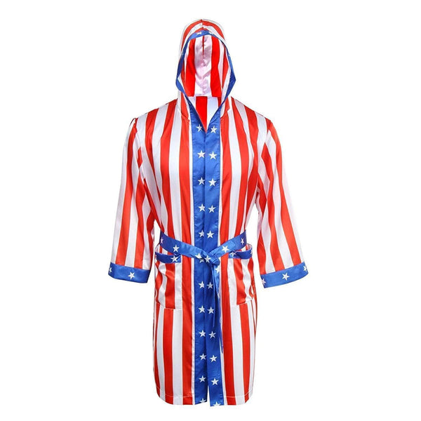 Vertical Flag Boxing Robe