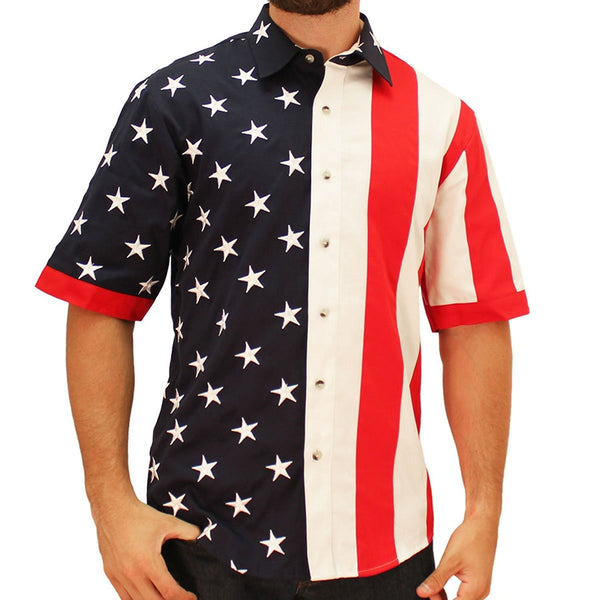 USA Flag Short Sleeves