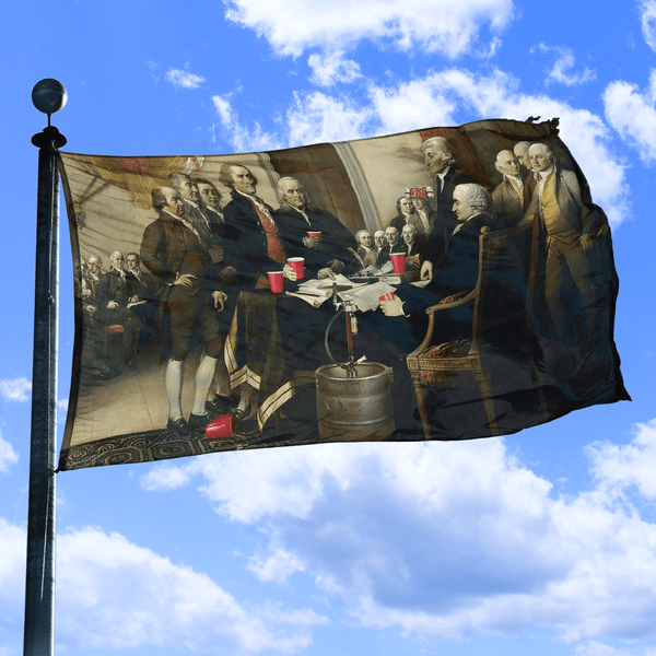 Party Like Our Forefathers - Flag