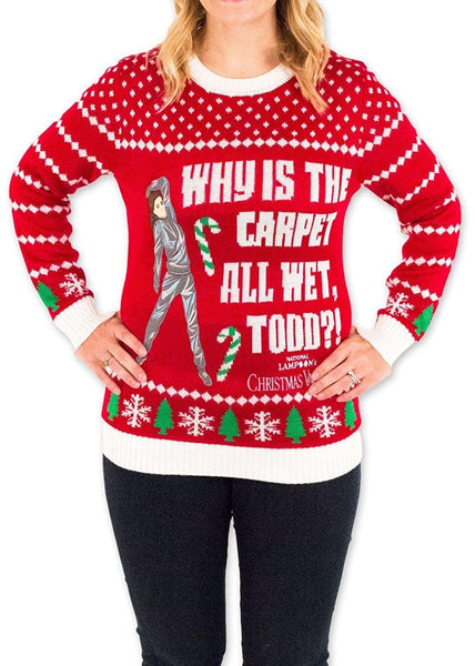 e0eae53be7bf Women's Why is the Carpet Wet Ugly Christmas Sweater | American AF - AAF  Nation