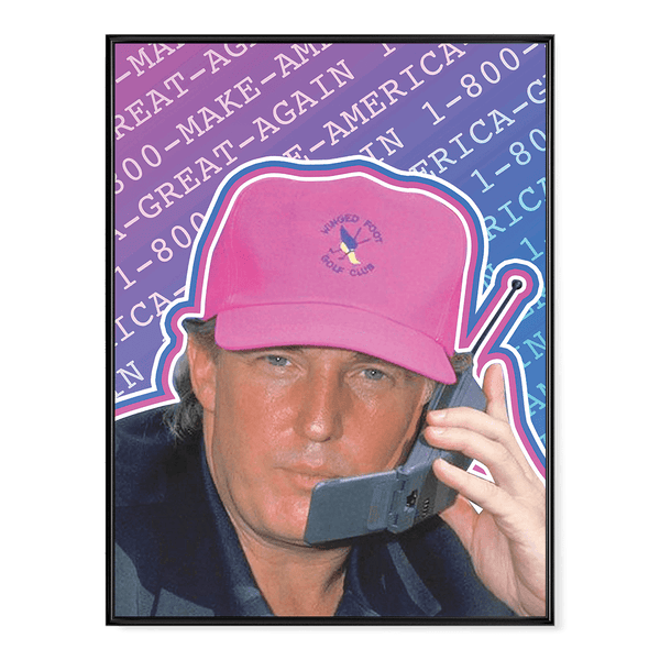 90's Trump - Poster