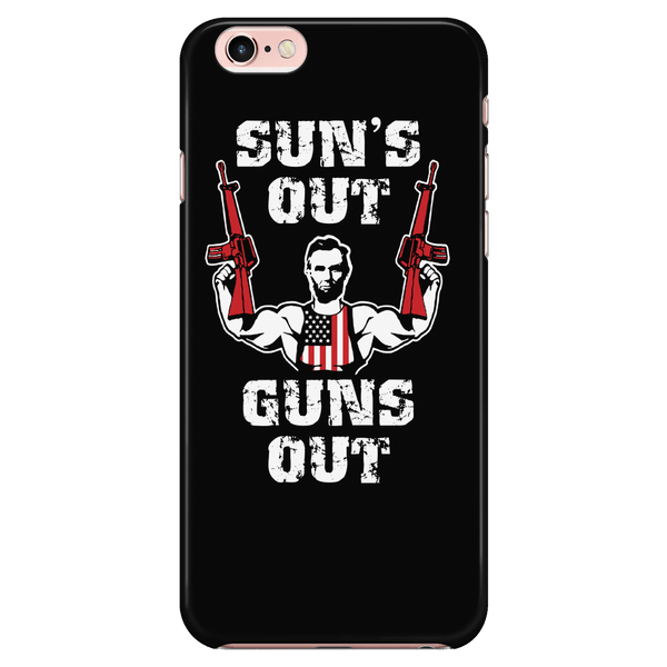 Suns Out Guns Out - Phone Case