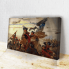 Crossing Delaware Canvas
