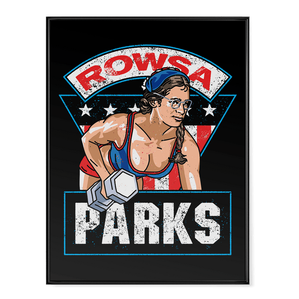 Rowsa Parks - Poster