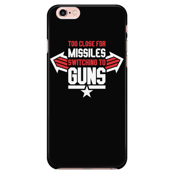 Switching To Guns - Phone Case