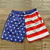 Trunks American Flag Swim Trunks