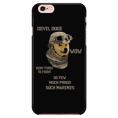 Devil Doge - Phone Case