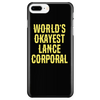World's Okayest Lance Corporal - Phone Case