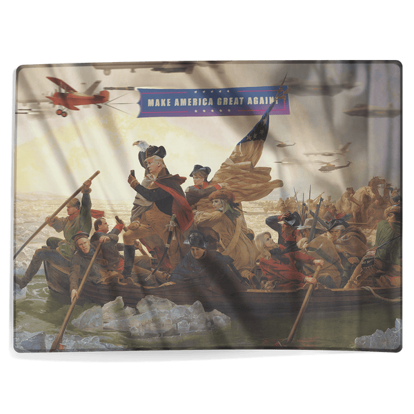 Trump Crossing Delaware - Blanket