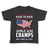 Back-To-Back World War Champs! V2 - Kids