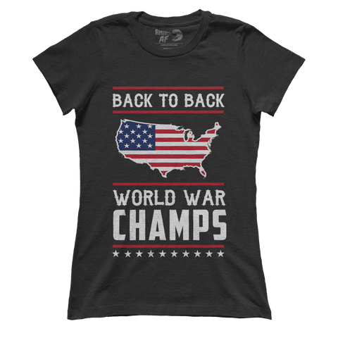 AK: Back-To-Back World War Champs! (Ladies) - 4oj