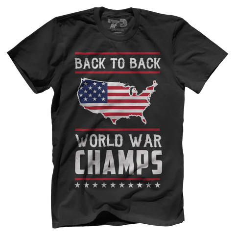 Back-To-Back World War Champs! - 4oj