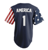 Jersey Limited Edition Blue America #1 Jersey