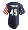 Limited Edition Blue Trump #45 Jersey - Keep America American