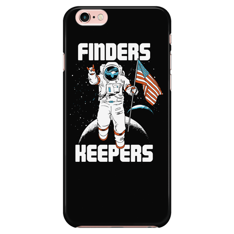 Finder's Keepers - Moon Mission - Phone Case