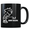 Calvin Pee - Short Sellers - Coffee Mug