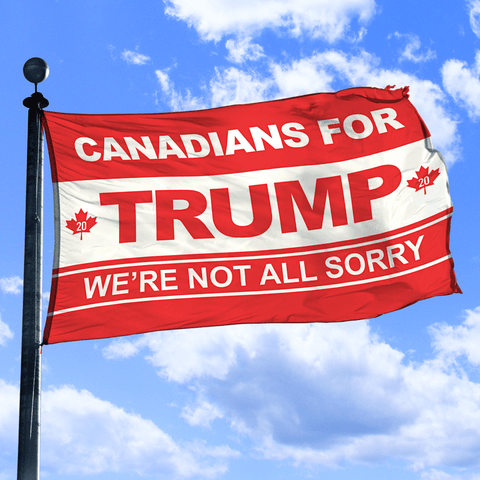 Canadians for Trump - Flag