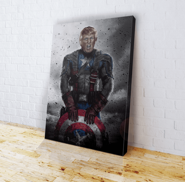 Captain Trump - Canvas