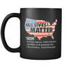 Drinkware ALL LIVES MATTER - RAW ALL LIVES MATTER - RAW - Coffee Mug