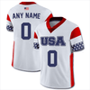 Custom Team USA Football Jersey