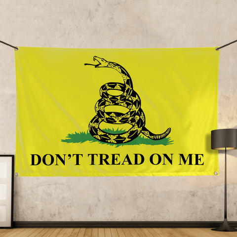 Don't Tread on Me Gadsden - Wall Flag